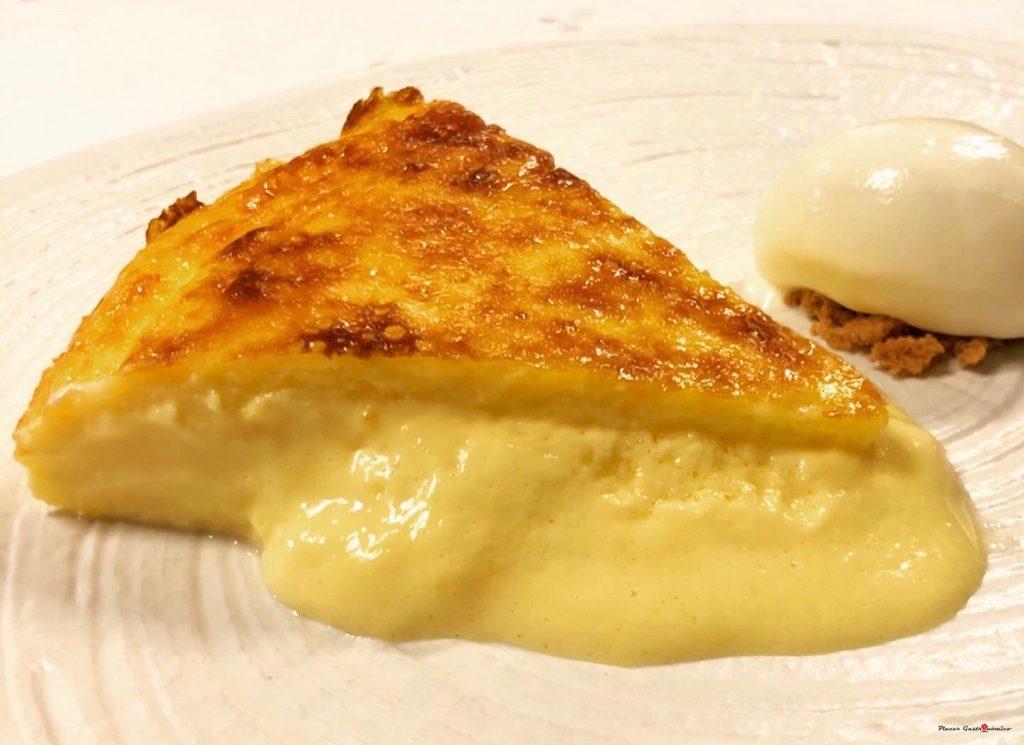 Tarta de queso Casa Nicolás Tolosa